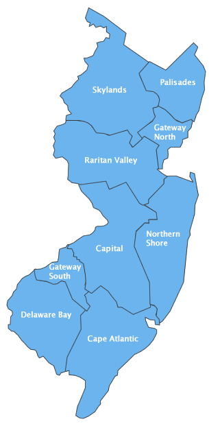 Distirct Map